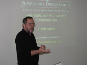 John Spears, President of the Sustainable Design Group