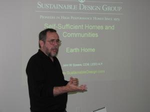 John Spears, President of the Sustainable Design Group