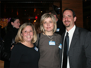 Barbara Silverman, Nuray Anahtar and Dave Feldman