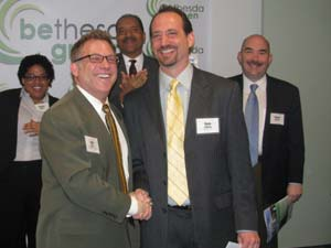 Cliff Chiet and Dave Feldman at the Maryland Gone Green event