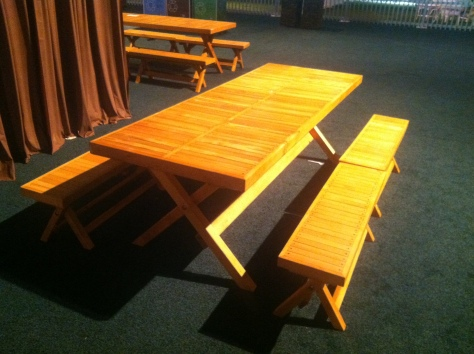 redwood picnic table plans