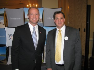 Gov. O'Malley and Anthony Millin