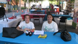 BG interns at the Imagination Bethesda children's street festival.